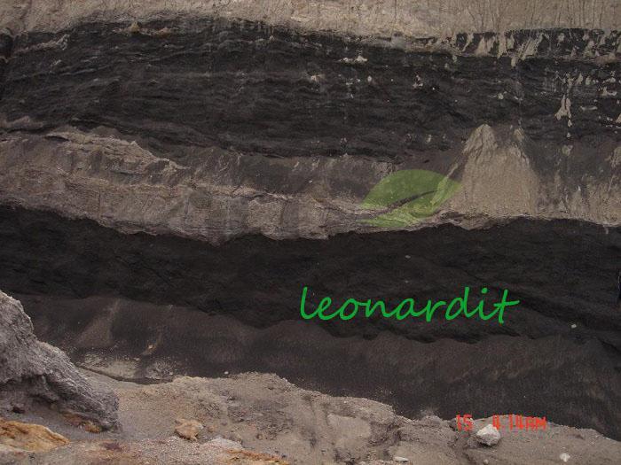 سنگ لئوناردیت منبع استخراج هیومیک اسید