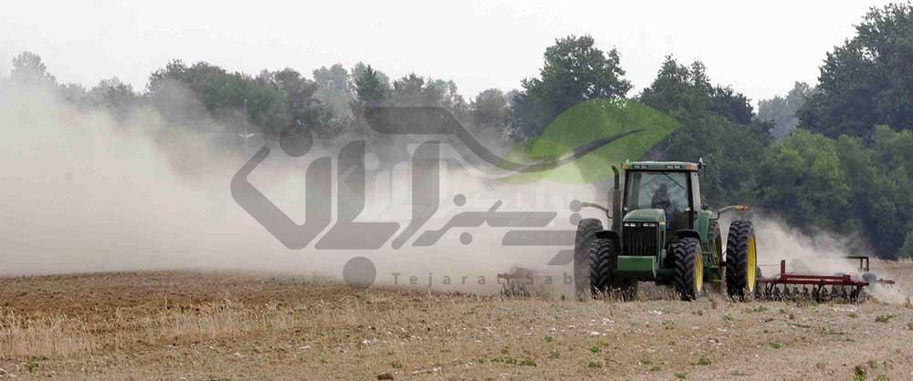 آلودگی هوا توسط ماشین های کشاورزی