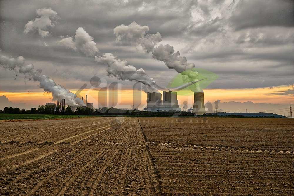 آلودگی هوا توسط نیروگاه های صنعتی
