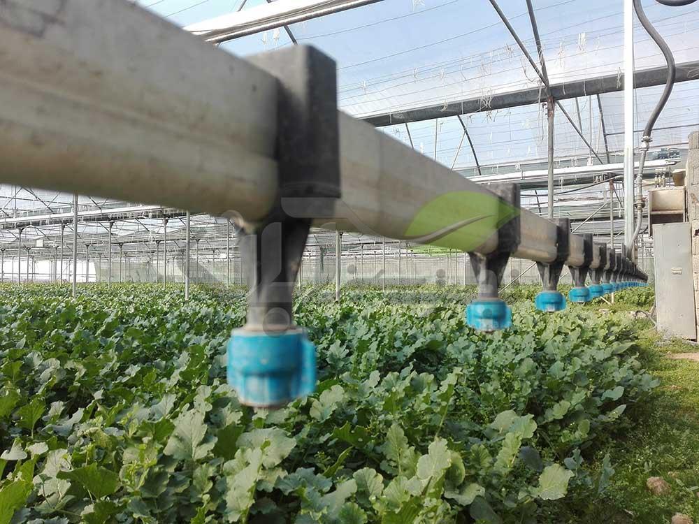 دستگاه بوم آبیاری گلخانه