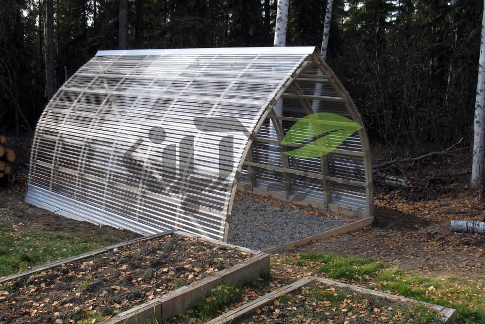 سازه گلخانه طرح گاتیک