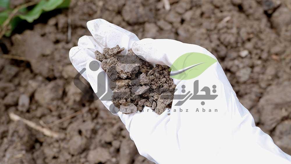 ضدعفونی کردن  خاک