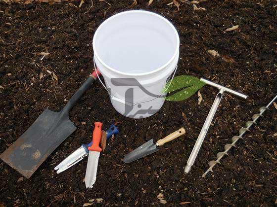 ابزار های نمونه برداری از خاک