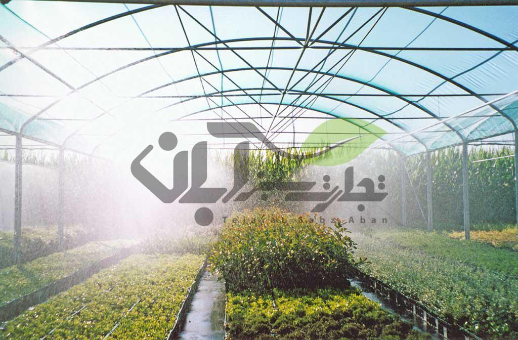 سیستم های آبیاری در گلخانه