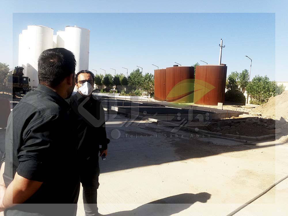 مشاوره کشاورزی و بازدید از پالایشگاه نفت