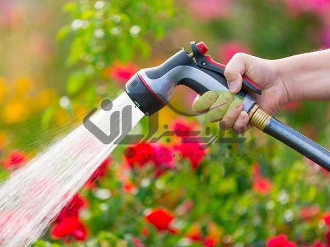 آبیاری شیلنگی hose