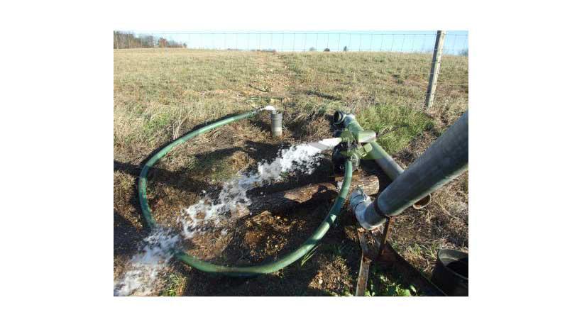 یخ زدگی شیرآلات و سیستم آبیاری