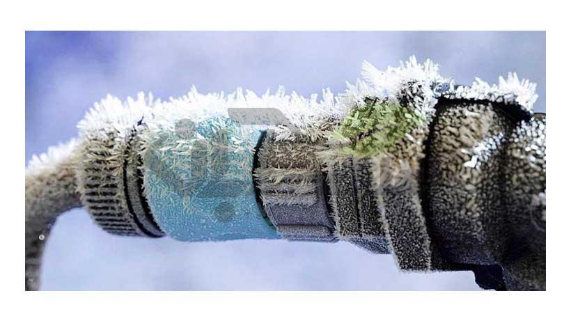 یخ زدگی لوله آب