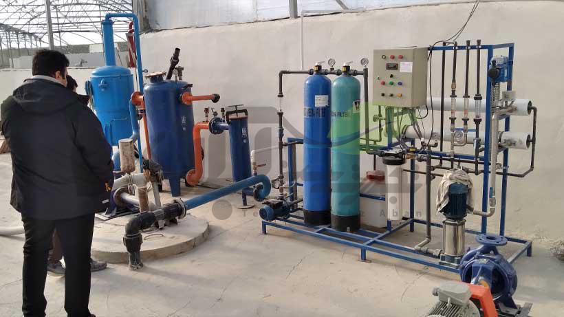 سیستم های پمپاژ از چاه آب و فیلتراسیون