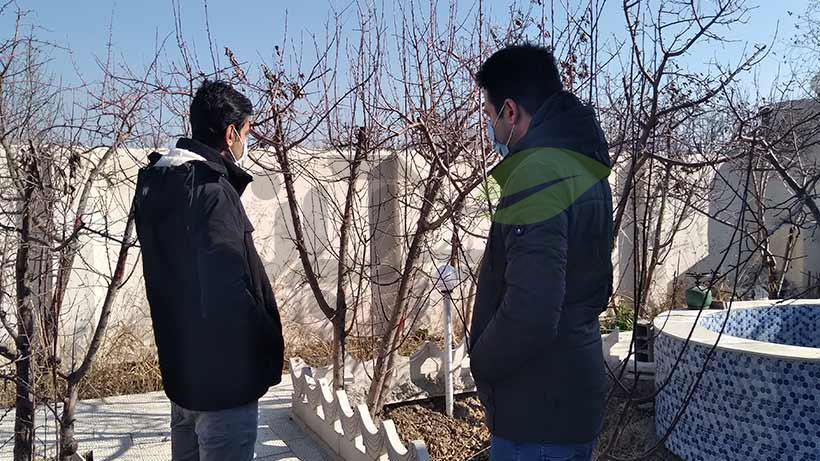 بازدید باغ در تهران