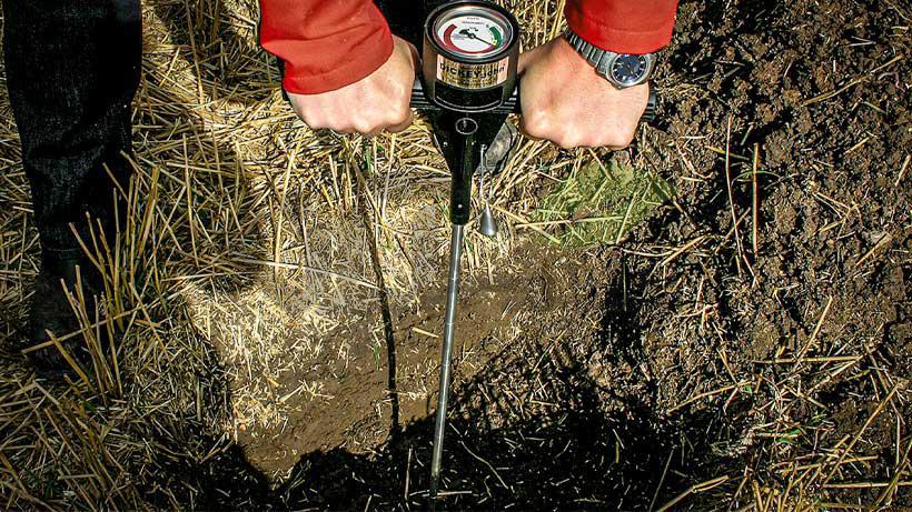 ابزار تست فشردگی خاک